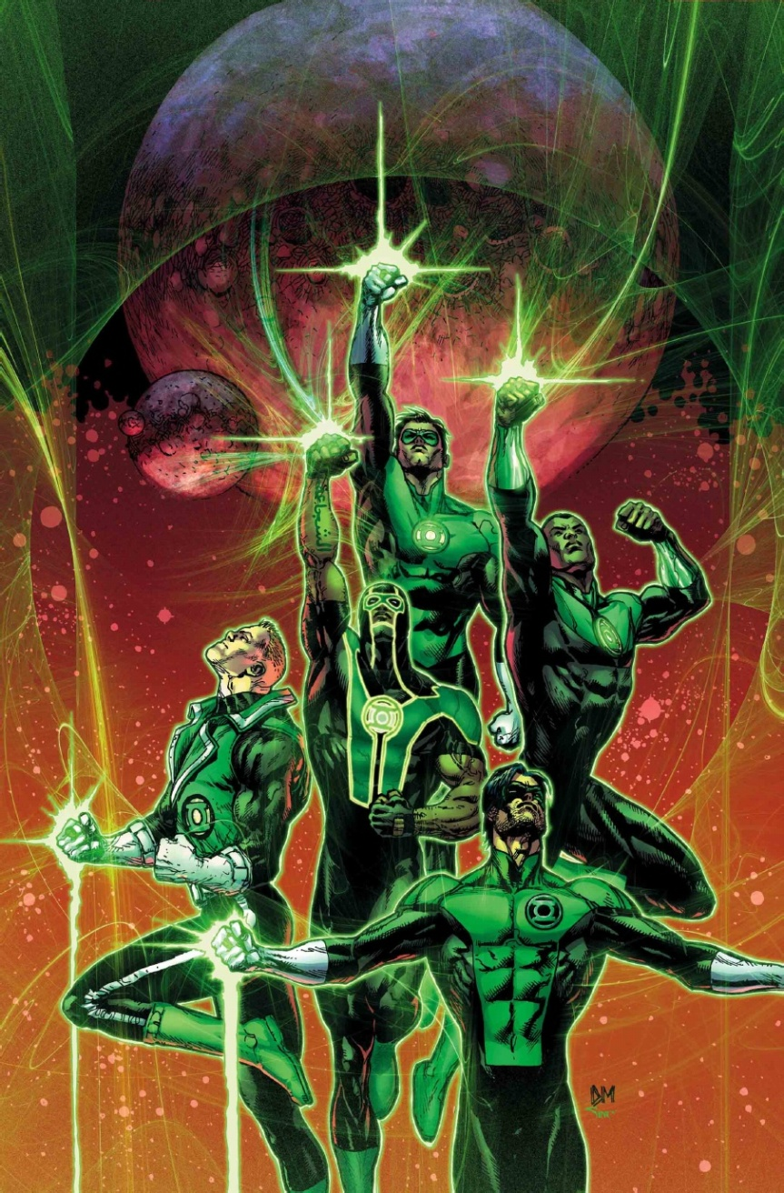 Power Rangers, Green Lantern, and DC Comics OHMY!