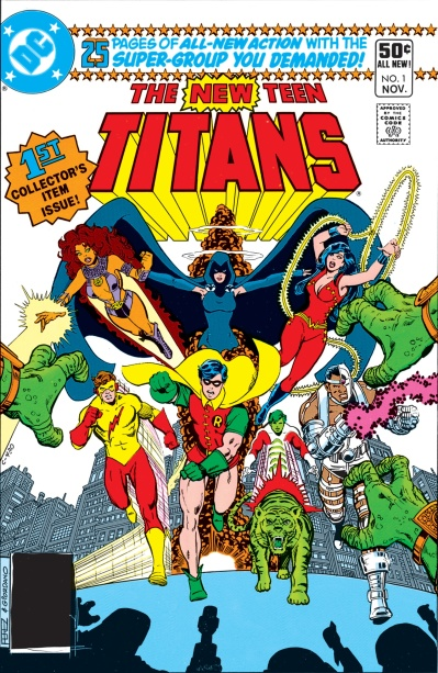 The New Teen Titans
